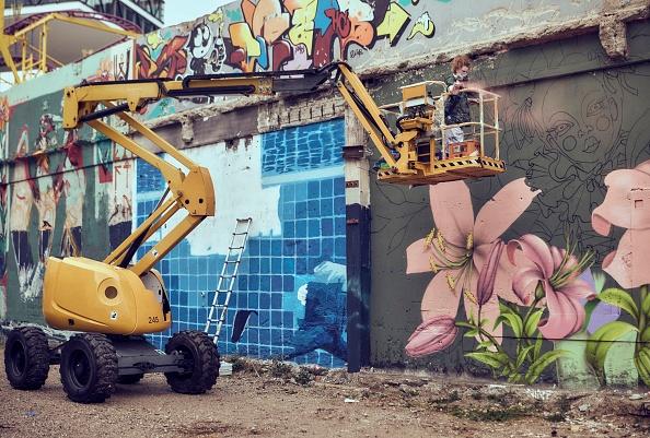 Adam Pretty「Hands Off The Wall - Female Street Art Festival」:写真・画像(9)[壁紙.com]