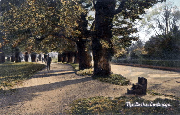 20th Century Style「Cambridge University -  'The Backs', a strip of open land running along the back of the colleges, early 1900 's.」:写真・画像(11)[壁紙.com]