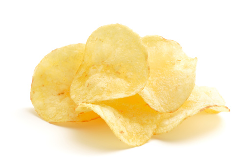 Small Group Of Objects「Potato Crisps」:スマホ壁紙(2)