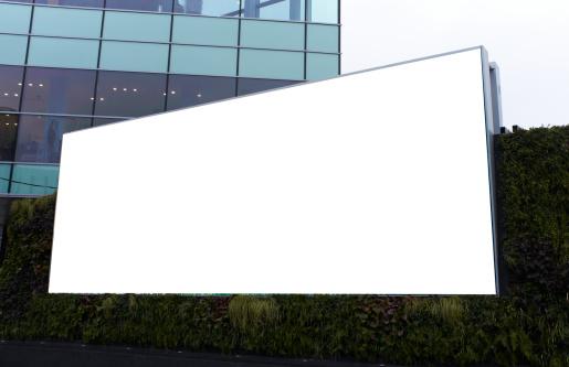 イギリス「a blank advertising billboard」:スマホ壁紙(2)