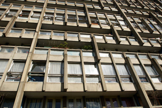 Robin Hood Gardens, Poplar, London, UK, 2008:ニュース(壁紙.com)
