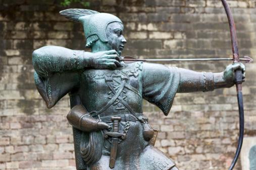 Male Likeness「Robin Hood statue in Nottingham」:スマホ壁紙(14)