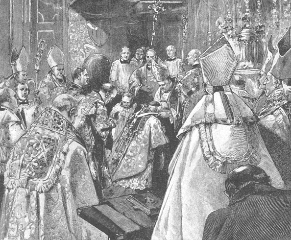 Mitre「The Investiture Of Archbishop VaughanAt The Brompton Oratory」:写真・画像(15)[壁紙.com]