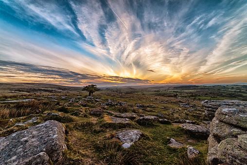 Valley「Sunset over the Dart Valley」:スマホ壁紙(11)