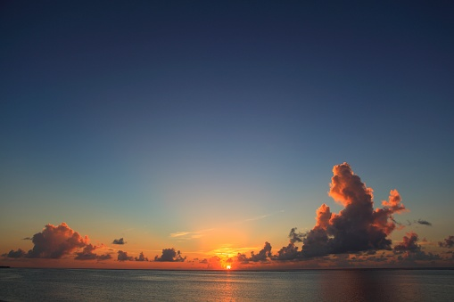 Northern Mariana Islands「Sunset over sea, Saipan, Northern Mariana Islands」:スマホ壁紙(12)