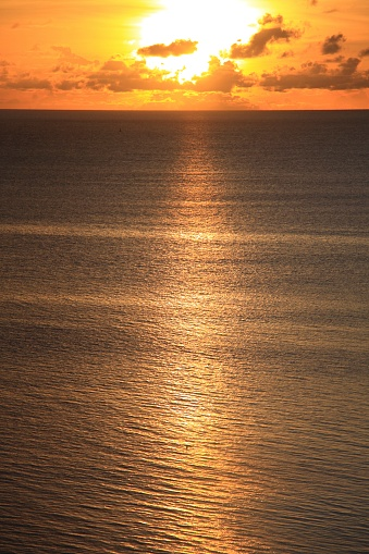 Northern Mariana Islands「Sunset over sea, Saipan, Northern Mariana Islands」:スマホ壁紙(13)
