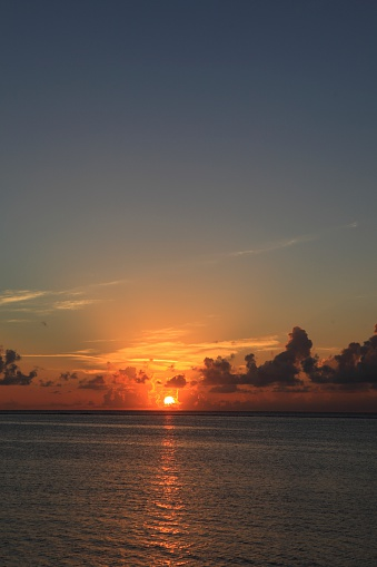 Northern Mariana Islands「Sunset over sea, Saipan, Northern Mariana Islands」:スマホ壁紙(14)
