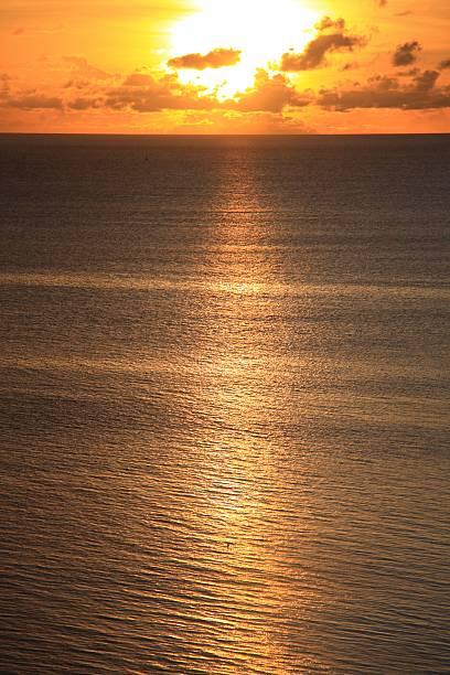 Sunset over sea, Saipan, Northern Mariana Islands:スマホ壁紙(壁紙.com)