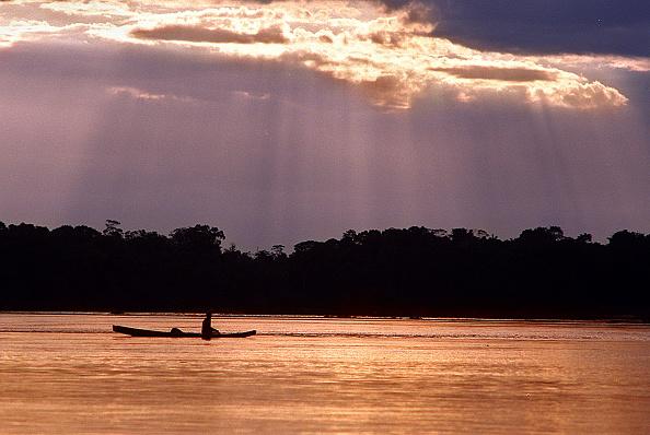 Wilderness Area「Amazon fishing - Sunset over the Orinoco River」:写真・画像(5)[壁紙.com]