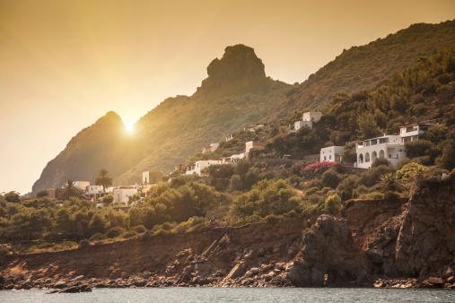 Panarea「Sunset over a mediterranean village」:スマホ壁紙(12)