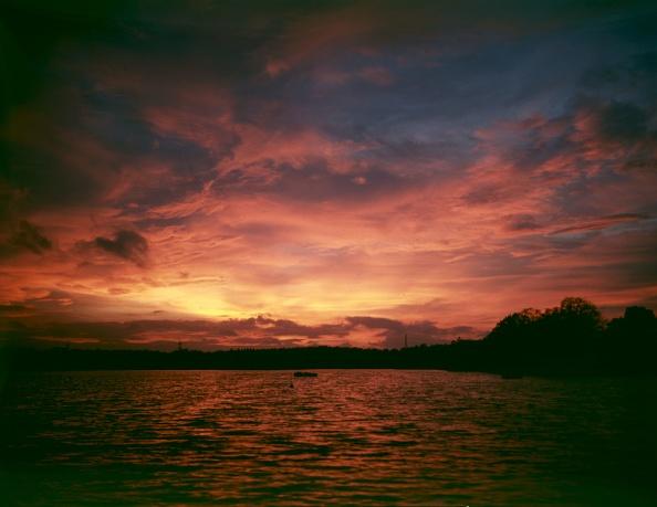 平穏「Lake Sunset」:写真・画像(8)[壁紙.com]