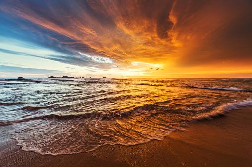 Vibrant Color「Sunset over Indian ocean」:スマホ壁紙(18)