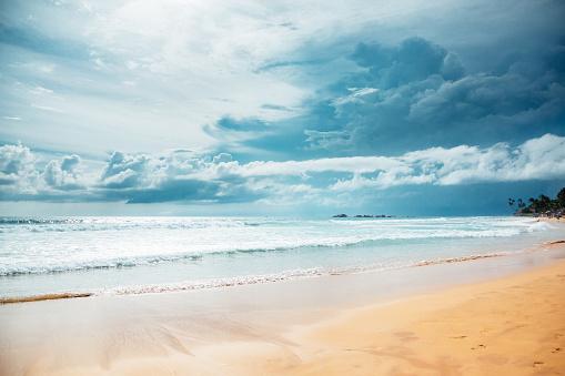 Sri Lanka「Sunset over Indian ocean」:スマホ壁紙(13)