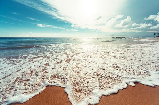 Coastline「Sunset over Indian ocean」:スマホ壁紙(13)