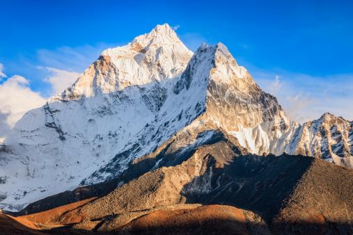 Khumbu「Sunset over mount Ama Dablam」:スマホ壁紙(8)