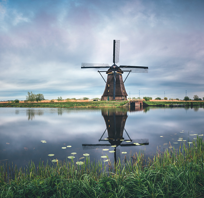 Mill「Kinderdijk Windmill」:スマホ壁紙(8)
