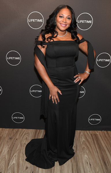 """Shoulder「The Cast And Producers From Lifetime's Film, """"Faith Under Fire: The Antoinette Tuff Story"""" Attend The Red Carpet Screening At The Rich Theatre, Woodruff Arts Center In Atlanta, Georgia」:写真・画像(8)[壁紙.com]"""