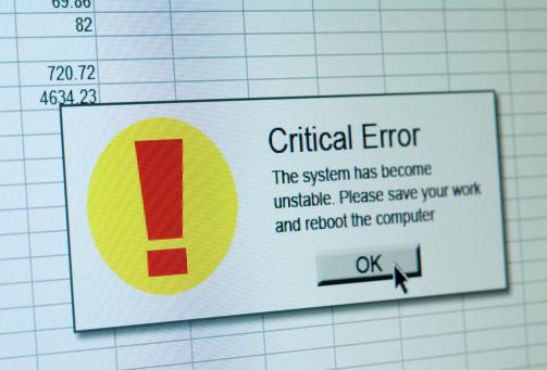 Uncertainty「Critical error」:スマホ壁紙(19)