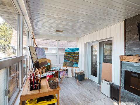 Real Life「Artist studio interior」:スマホ壁紙(13)