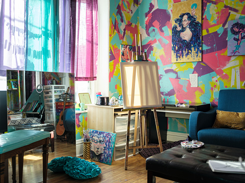 Real Life「Artist studio interior」:スマホ壁紙(15)