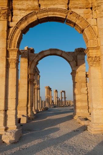 Greco-Roman Style「Roman ruins of Palmyra, Syria」:スマホ壁紙(19)