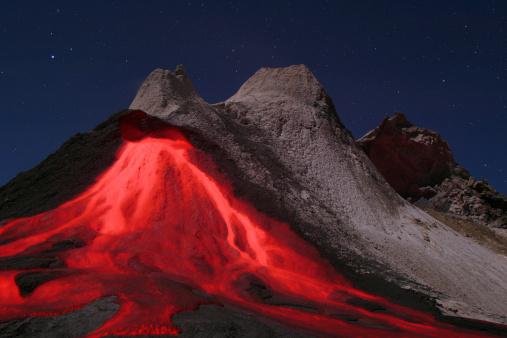 Active Volcano「Tanzania, Ol Doinyo Lengai volcano」:スマホ壁紙(5)