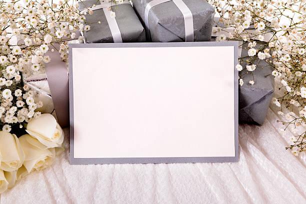 Blank wedding invitation:スマホ壁紙(壁紙.com)