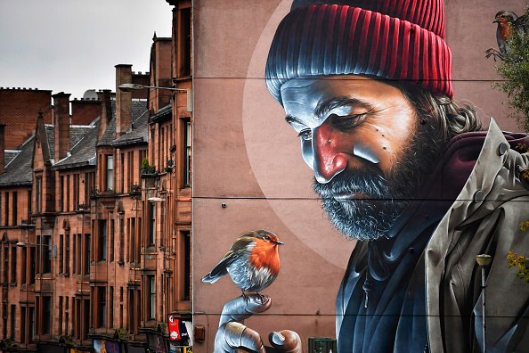 Mural「Street Art Highlighted For Glasgow's First City Centre Mural Trail」:写真・画像(12)[壁紙.com]