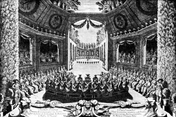 Louis XIV Of France「Louis XIV listening to a concert」:写真・画像(17)[壁紙.com]