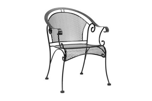 Outdoor Chair「black steel patio chair」:スマホ壁紙(13)