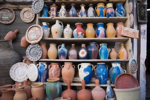 Gift Shop「Painted Clay Jugs, Goreme, Turkey」:スマホ壁紙(15)