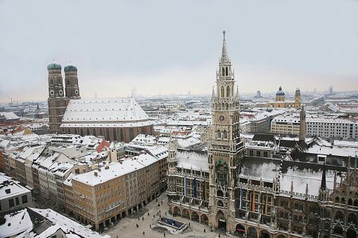 Munich「Stunning landscape photo of Munich in Germany」:スマホ壁紙(5)
