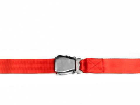 Strap「Red seat belt fastened, landscape」:スマホ壁紙(4)