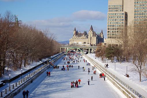 Figure Skating「Winter Wonderland Rideau Canal (UNESCO)」:スマホ壁紙(16)