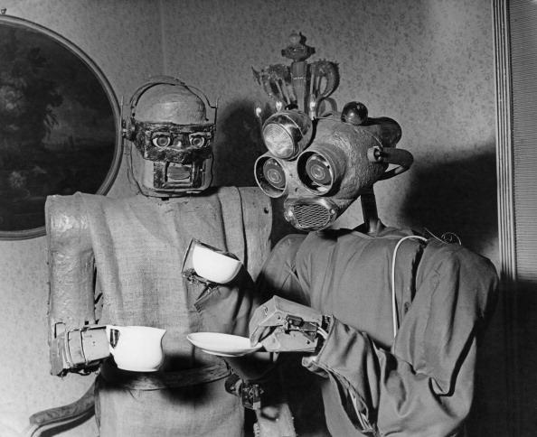 Hulton Archive「Robots' Coffee Break」:写真・画像(5)[壁紙.com]