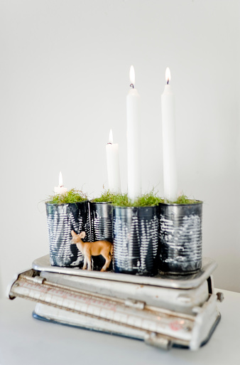Candlestick Holder「Upcycling of preserve cans as Advent wreath」:スマホ壁紙(19)