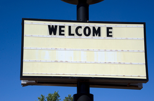 Motel「Route 66 Rustic Motel Welcome Signs」:スマホ壁紙(12)
