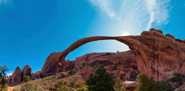 Landscape Arch「Landscape Arch, Devils Garden, Arches National Park, Moab, Utah,」:スマホ壁紙(5)