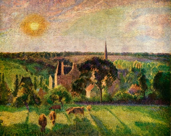 Horizon「Landscape At Eragny」:写真・画像(8)[壁紙.com]