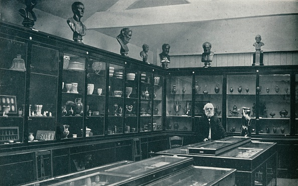Furniture「Corner View of the Wedgwood Museum on the Old Works at Etruria, Staffordshire, c1908」:写真・画像(8)[壁紙.com]