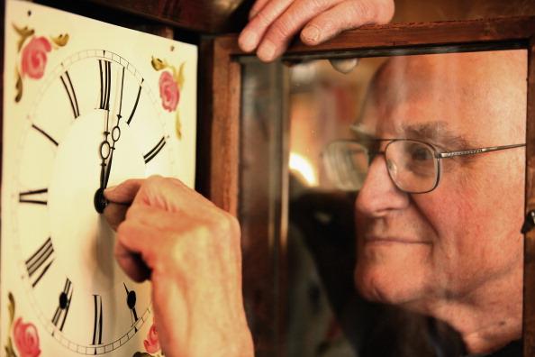 Clock「Britain Prepares For Change To British Summer Time」:写真・画像(11)[壁紙.com]