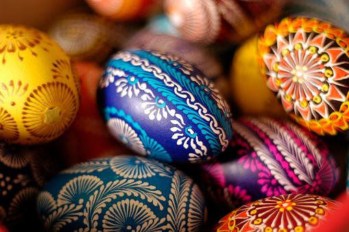 Easter「Colorful Easter Eggs」:スマホ壁紙(0)