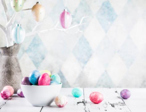 イースター「カラフルなイースター卵」:スマホ壁紙(1)