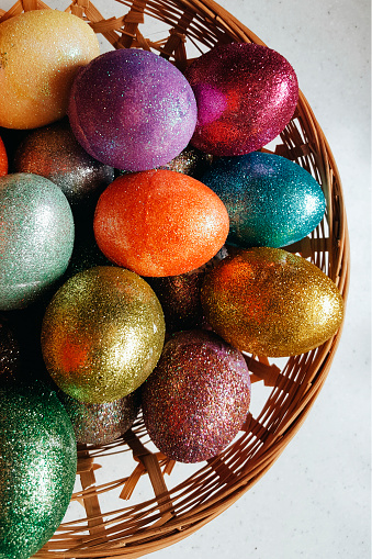 Easter Basket「Colorful Easter Eggs」:スマホ壁紙(11)