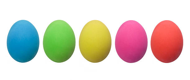 カラフルなイースター卵料理(XXXL:スマホ壁紙(壁紙.com)