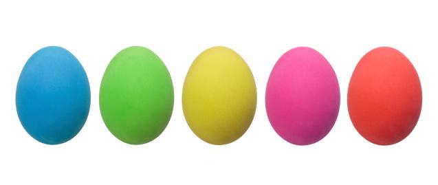 White Color「カラフルなイースター卵料理(XXXL」:スマホ壁紙(10)