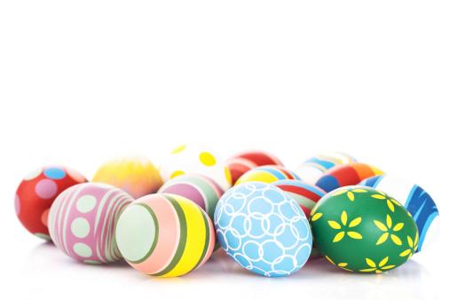 Easter「Colorful Easter eggs」:スマホ壁紙(6)