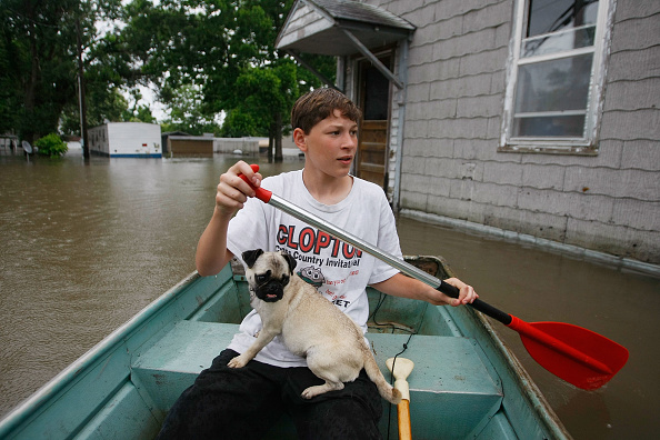 Missouri「Mississippi River Towns Brace For Major Flooding」:写真・画像(1)[壁紙.com]