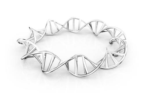 Continuity「Silver bracelet of DNA Double Helix」:スマホ壁紙(5)