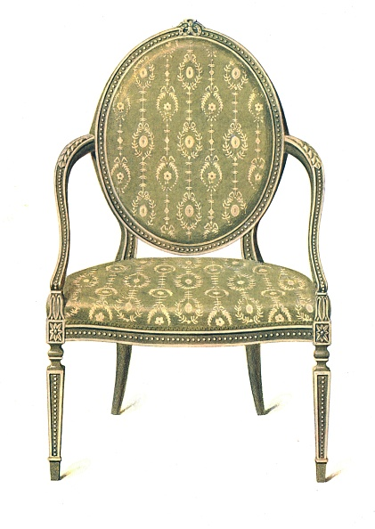 Upholstered Furniture「Painted Chair」:写真・画像(0)[壁紙.com]